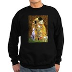 Kiss & Whippet Sweatshirt (dark)