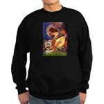 Mandolin Angel / Yorkie (17) Sweatshirt (dark)