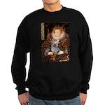 The Queen's Yorkie (T) Sweatshirt (dark)