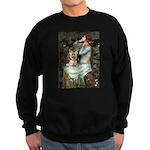 Ophelia's Yorkie (17) Sweatshirt (dark)