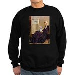 Mom's Yorkie TESS Sweatshirt (dark)