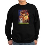 Angel 3 - Yorkshire Terrier Sweatshirt (dark)