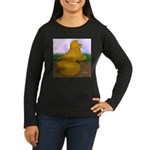 Yellow ET Pigeon Women's Long Sleeve Dark T-Shirt