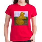 Yellow ET Pigeon Women's Dark T-Shirt