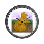Yellow ET Pigeon Wall Clock