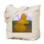Yellow ET Pigeon Tote Bag