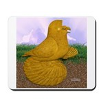 Yellow ET Pigeon Mousepad