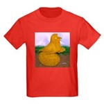 Yellow ET Pigeon Kids Dark T-Shirt