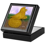 Yellow ET Pigeon Keepsake Box