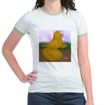 Yellow ET Pigeon Jr. Ringer T-Shirt