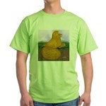 Yellow ET Pigeon Green T-Shirt