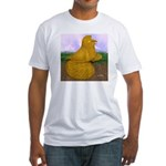 Yellow ET Pigeon Fitted T-Shirt