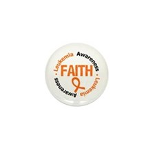 Leukemia Faith Mini Button (10 pack)