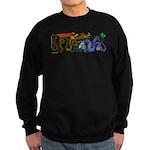 Fire Drake and Sea Serpent Sweatshirt (dark)