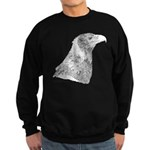 Wedge Tailed Eagle Fine Sweatshirt (dark)