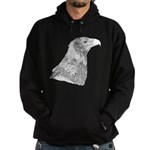 Wedge Tailed Eagle Fine Hoodie (dark)
