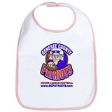 Cute North american football league logo Bib