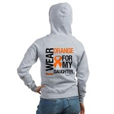 I Wear Orange For Daughter Zip Hoodie