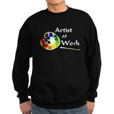 Artist at Work Sweatshirt