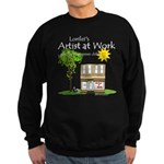 Lorilei's Artist at Work Sweatshirt (dark)