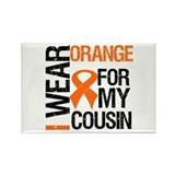I Wear Orange For Cousin Rectangle Magnet