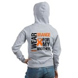 I Wear Orange For Brother Zip Hoodie
