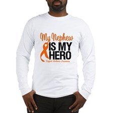 LeukemiaHero Nephew Long Sleeve T-Shirt