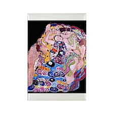 """Klimt's """"The Virgin"""" Rectangle Magnet"""