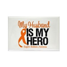 LeukemiaHero Husband Rectangle Magnet