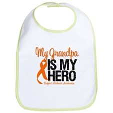LeukemiaHero Grandpa Bib