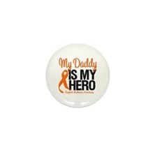 LeukemiaHero Daddy Mini Button (10 pack)