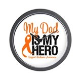 LeukemiaHero Dad Wall Clock