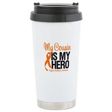 LeukemiaHero Cousin Ceramic Travel Mug