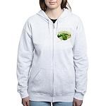 Salmonella Farms - Cilantro Women's Zip Hoodie