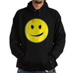 Smiley Face - Evil Grin Hoodie (dark)