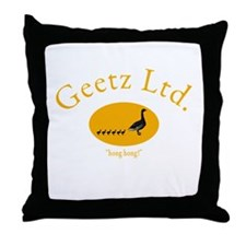 Geetz Ltd. Throw Pillow