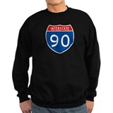 Interstate 90, USA Jumper Sweater