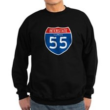 Interstate 55 - IL Sweatshirt