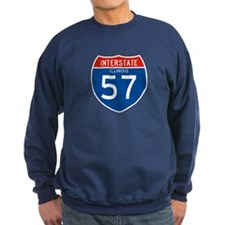 Interstate 57 - IL Sweatshirt