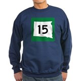 Highway 15, South Dakota Sweatshirt