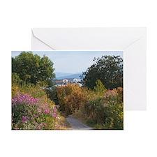 Boulevard Trail Greeting Card