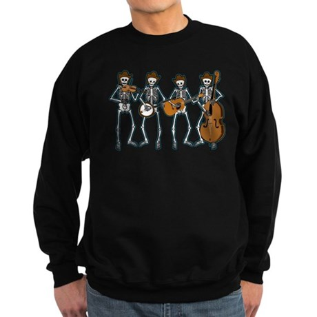 Cowboy Music Skeletons Sweatshirt (dark)