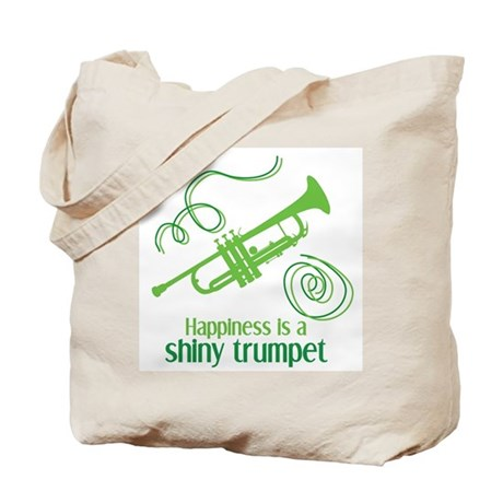 Shiny Trumpet Tote Bag