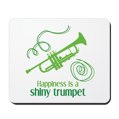 Shiny Trumpet Mousepad
