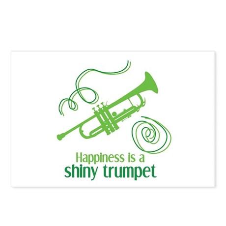 Shiny Trumpet Postcards (Package of 8)
