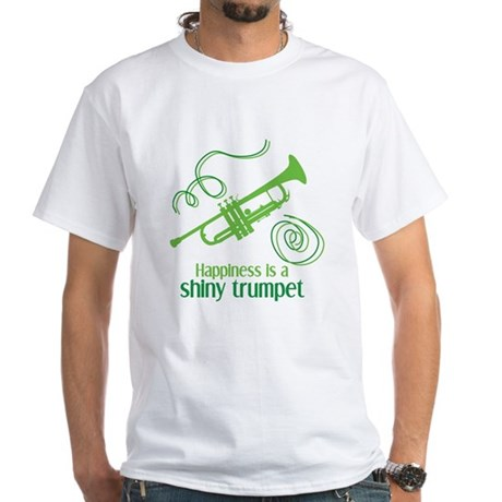Shiny Trumpet White T-Shirt