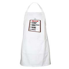 XMAS To-Do List BBQ Apron