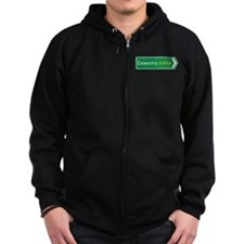Coventry Roadmarker, UK Zip Hoodie