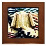 Torah's Song Framed Tile