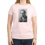 Quantum Physics: Niels Bohr Women's Pink T-Shirt